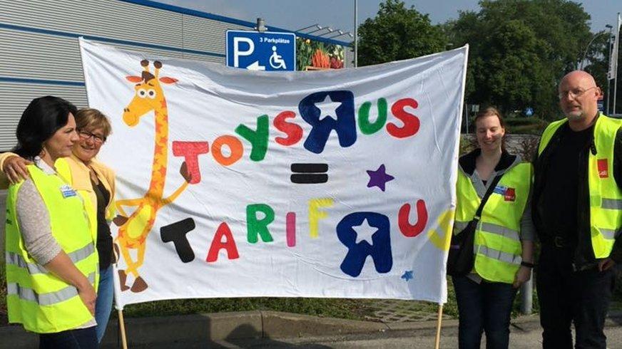 Streik Toys R Us