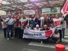 Warnstreik im Hamburger Großhandel 20127