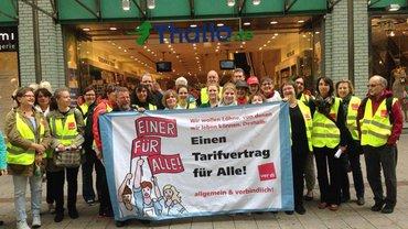 Thalia Hamburg: Warnstreik