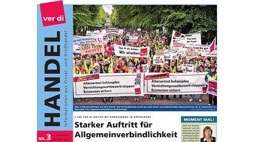 Cover des HANDEL Magazins, Ausgabe 03/2017