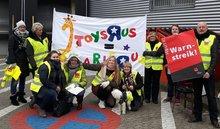 Streik bei Toys R Us