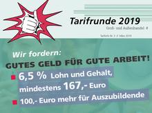 Tarifinfo Groß- und Außenhandel 2019