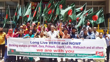 Solidarität von unseren Kolleg*innen aus Sri Lanka und Bangladesh