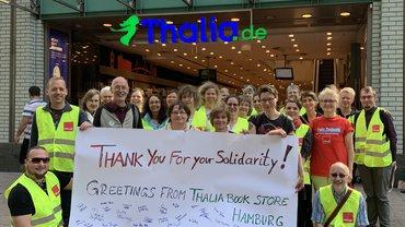 Internationale Solidarität im Streik