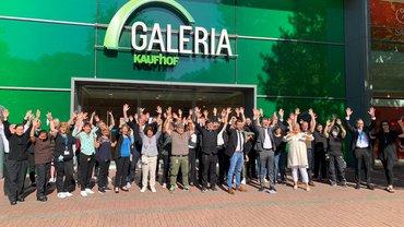 Aufatmen für die Beschäftigten von Galeria Kaufhof im Alster Einkaufszentrum (AEZ)