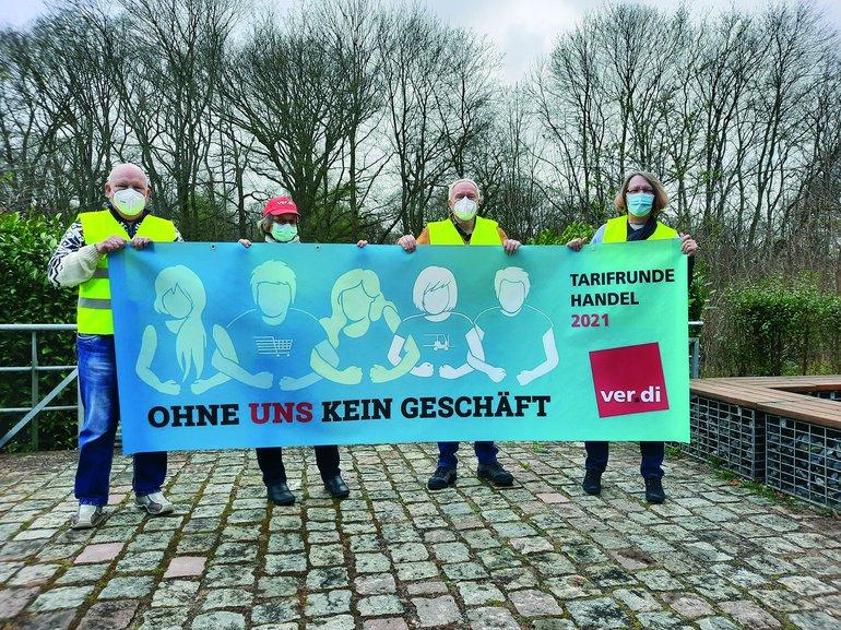 Eröffnung der Tarifrunde im Groß- und Außenhandel Hamburg 2021