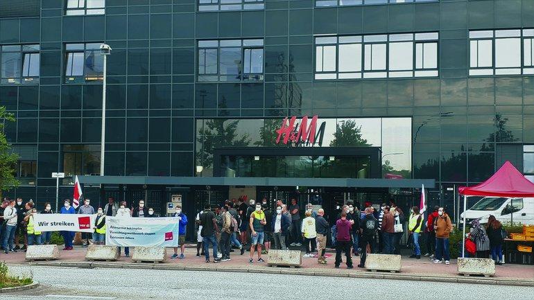 Streiks bei HM Logistik