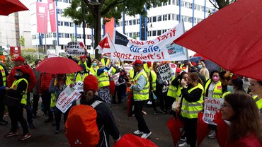 Streikaktion Hessen