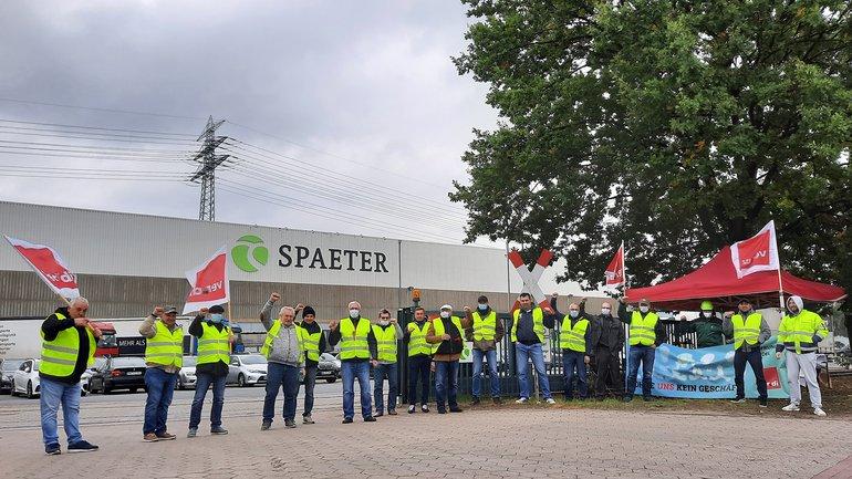 Streiks im Hamburger Groß- und Außenhandel